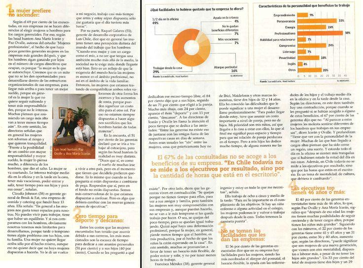 Revista YA, El Mercurio. Pág 35,36