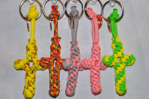 17 best images about cord cross on pinterest rosaries for Paracord cross instructions