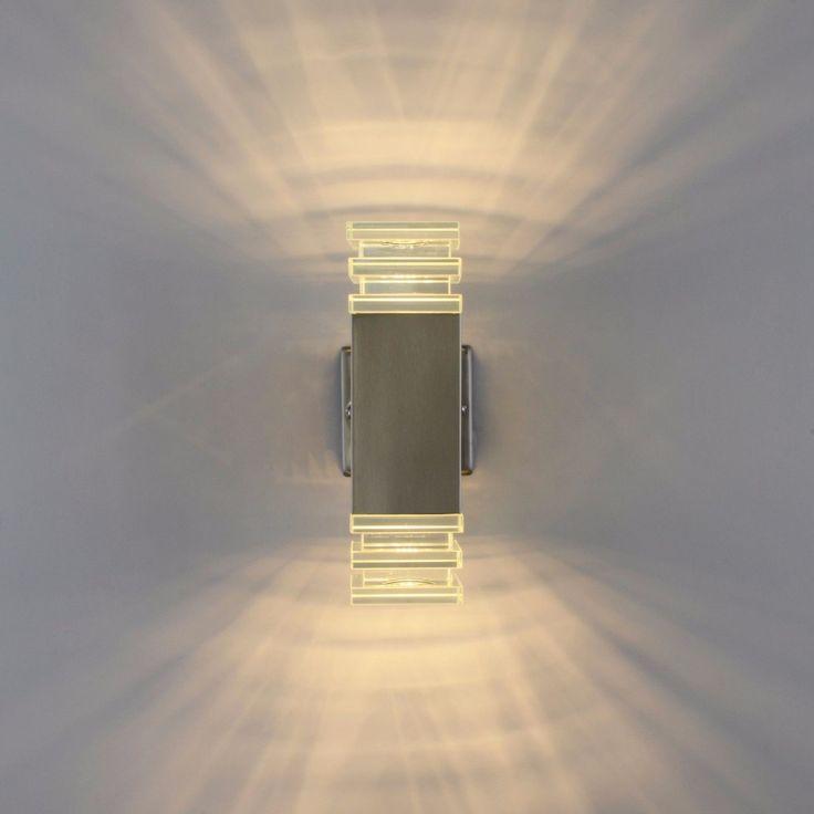 LED Aussenleuchte Wandleuchte Bewegungsmelder Wandlampe Standleuchte Wegeleuchte in Heimwerker, Lampen & Licht, Außenleuchten | eBay!