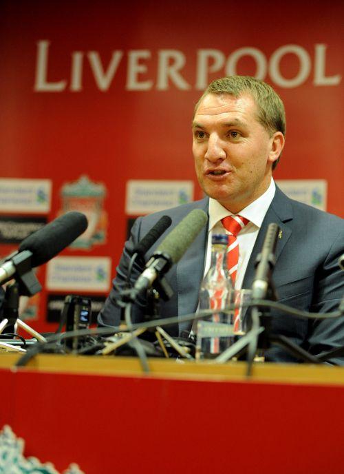Pics: Brendan's Anfield arrival - Liverpool FC