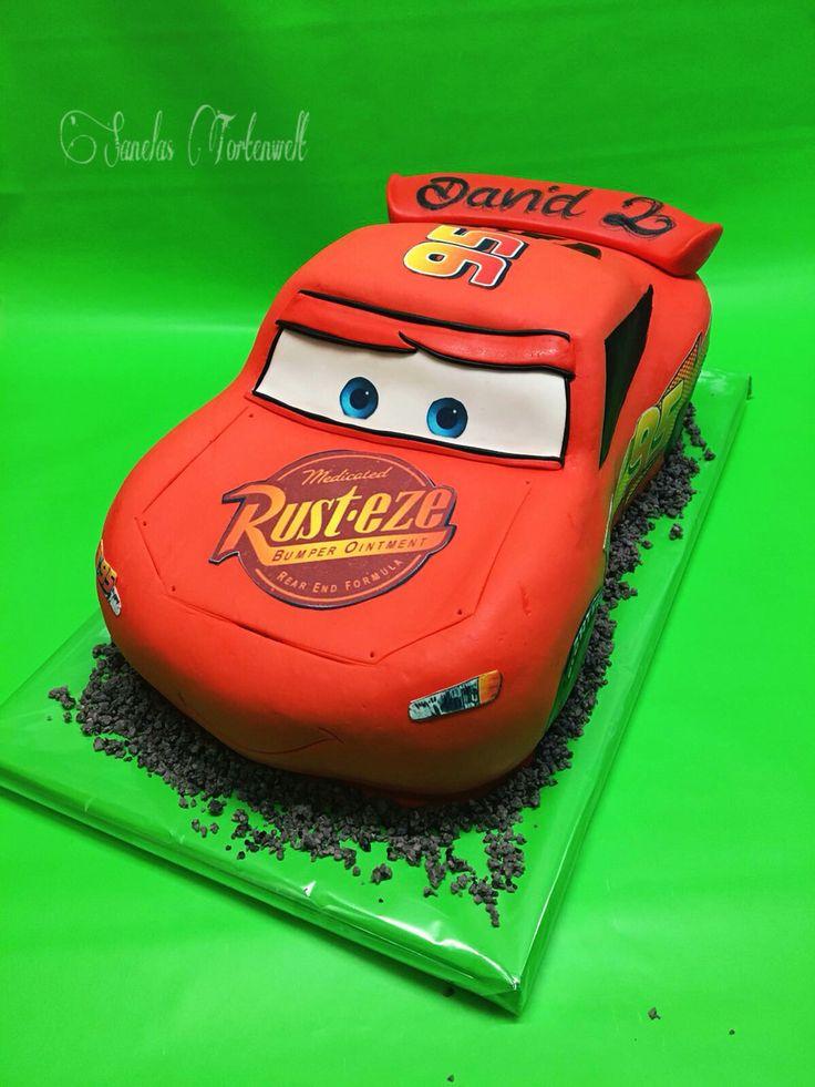 Cars Lighting McQueen Cake / Cars Lighting McQueen Torte