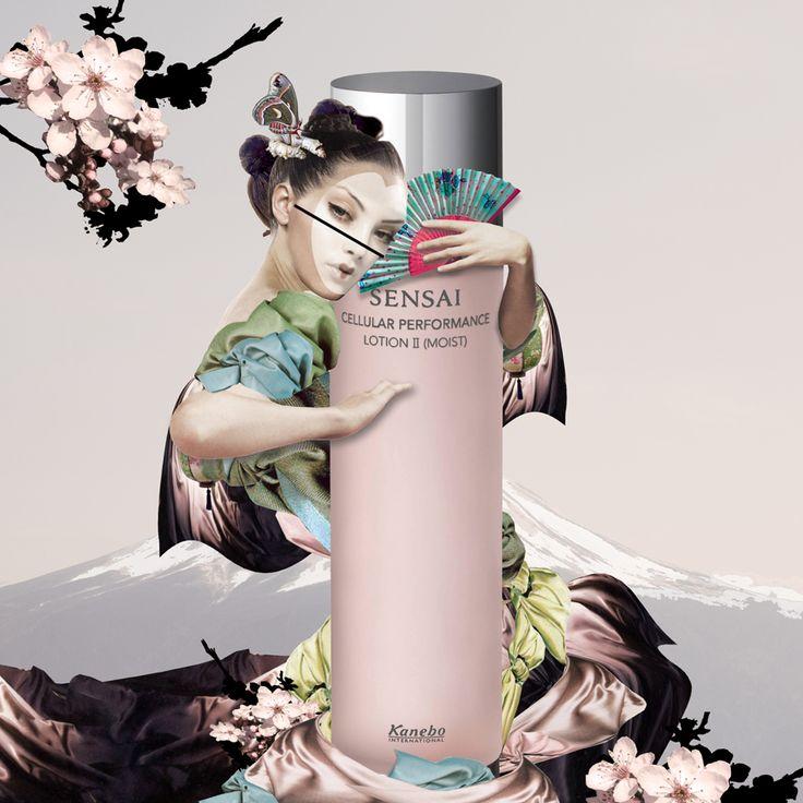 sensai/kanebo by Maren Esdar #marenesdar #sensai #cellularperformance #inspiration #collage #parfumgefluester #blog