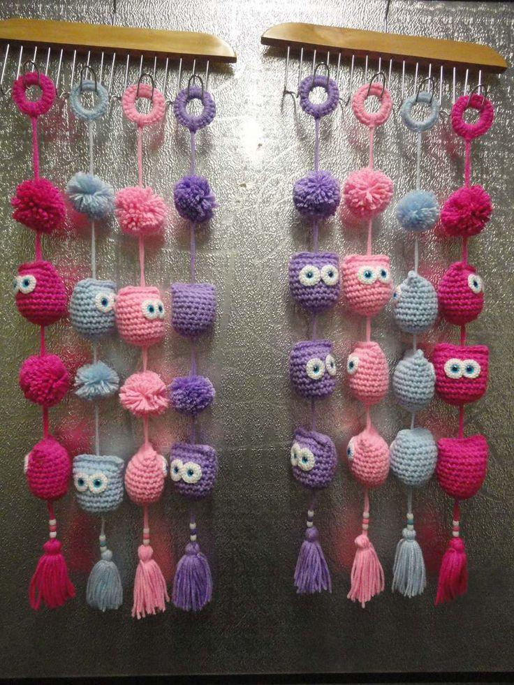 Buhos Tejidos Al Crochet (adornos - Souvenir - Niños) - $ 40,00 en MercadoLibre