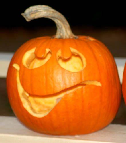 Happy Jack O Lantern Faces | Happy Face Pumpkin | Halloween Jack O lantern Face