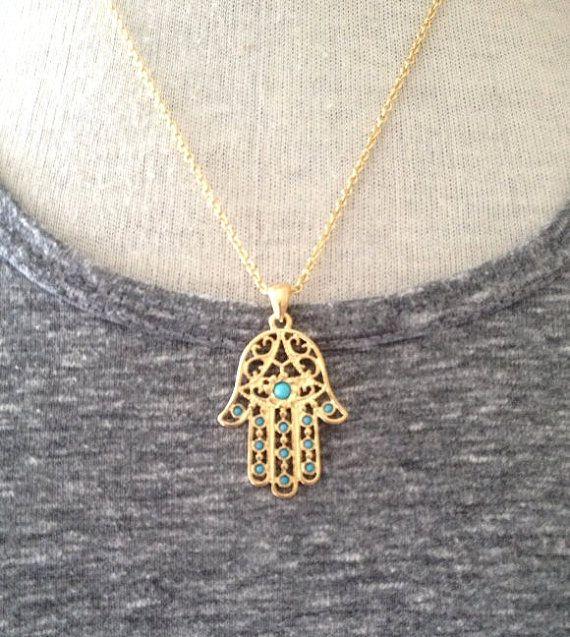 25 best ideas about hamsa necklace on fatima