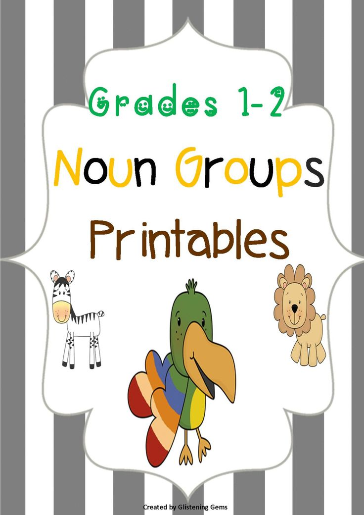 Expanding Noun Groups This jungle pack includes fun printables that helps students grasp the concepts of nouns and noun groups. The pack includes a total of 20 worksheets:  * 10 printable worksheets - students cut & paste the words from the boxes to create noun groups.These worksheets are good for students who require extra support in literacy and it also helps develop their fine motor skills.  * 10 printable worksheets - students write their own words to create noun groups, then they are to…