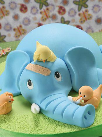 02 - Torta Cuidando al elefante - Tortas rápidas