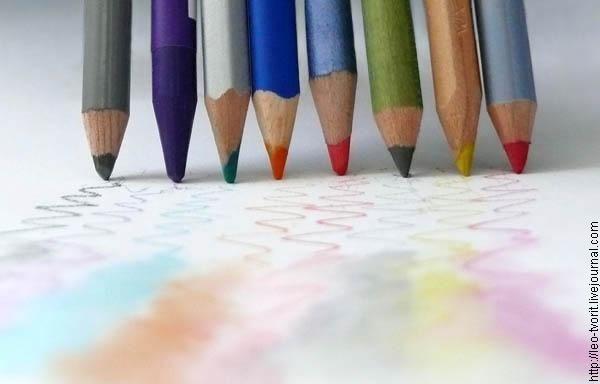Художественные материалы - Акварельные карандаши: описание, свойства и методы рисования