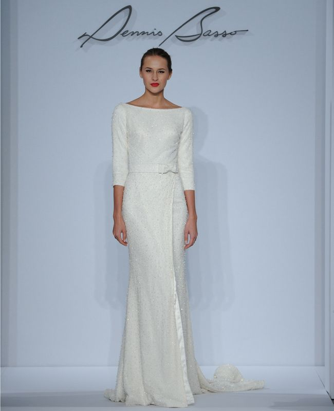 Dennis Basso Wedding Dresses Spring 2014