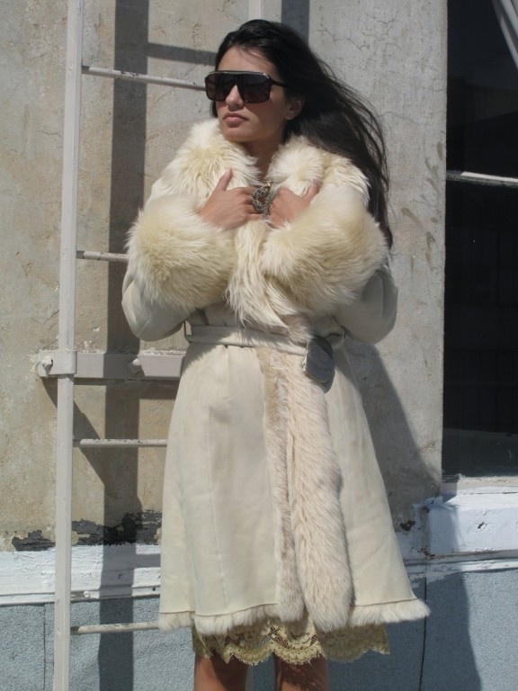 sheepskin fur coat | Shearling &amp Sheepskins.. I love
