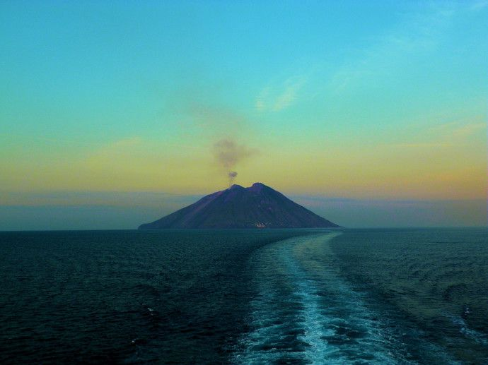Mt Stromboli: the Constantly Erupting Volcano in Stromboli, Italy