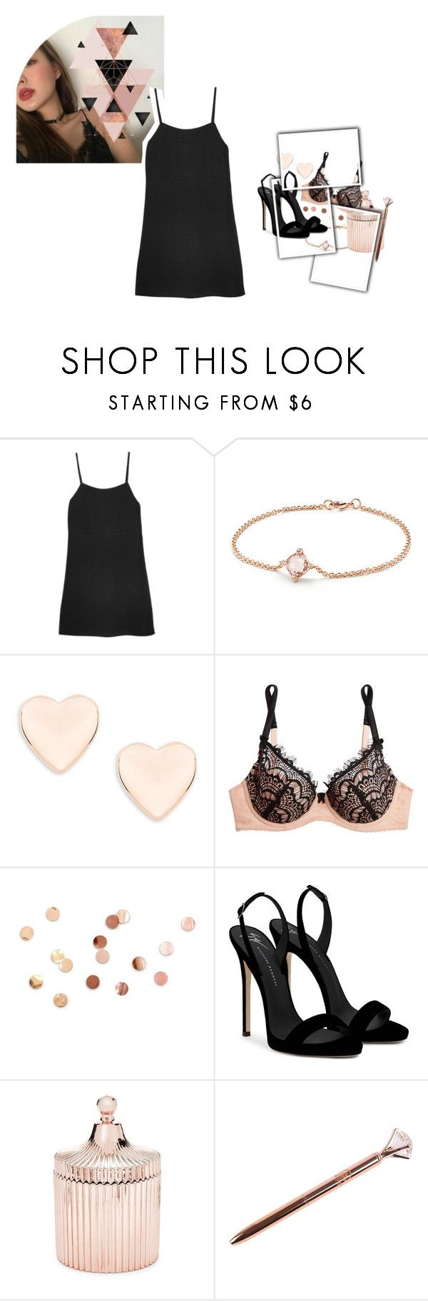 """""""party night ¡"""" by bruhkyu ❤ liked on Polyvore featuring Reformation, David Yurman, Ted Baker, Mimi Holliday by Damaris, Umbra, Giuseppe Zanotti and Saks Fifth Avenue"""