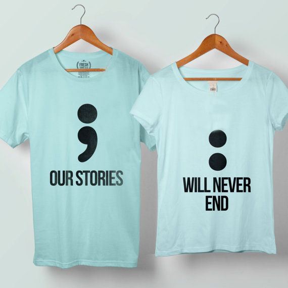 Our Story Will Never End Couple Tshirt size S to 5XL