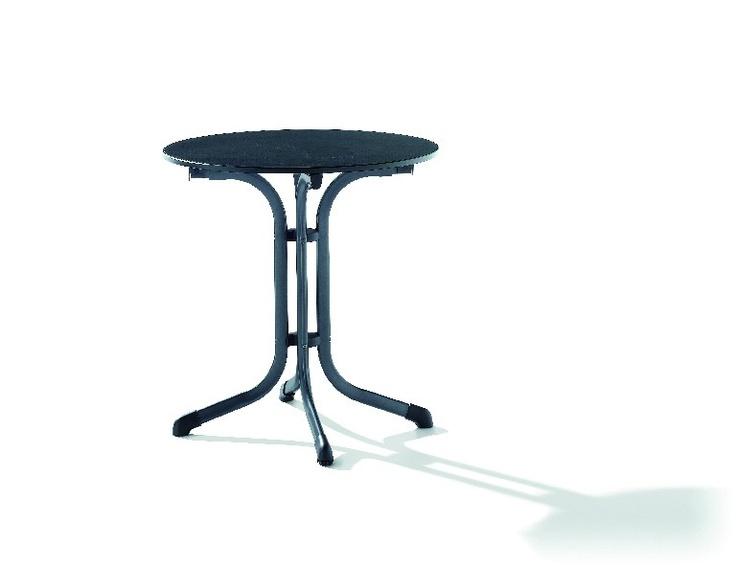 SIEGER Boulevard-Tisch, Typ 1125-55, Ø 68 cm