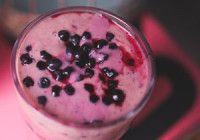 Borůvkové smoothie recept