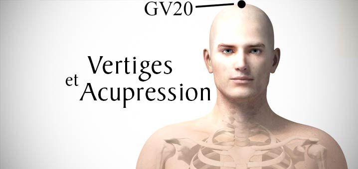 Stopper les vertiges avec l'acupression