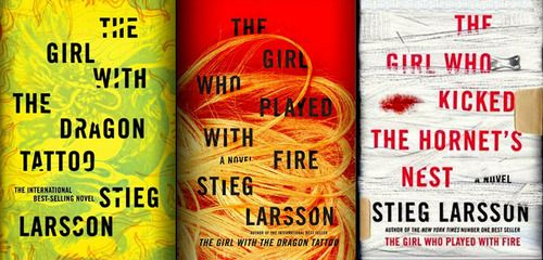 Steig Larson - The Millenium Trilogy. All three were a good read.