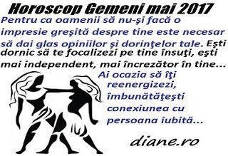 Horoscop mai 2017 Gemeni