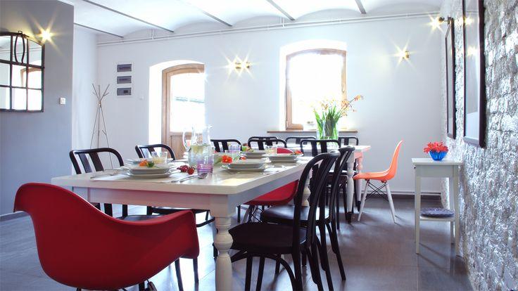 Pension dining room