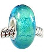 Remember the turquoise sea and golden beach with this Pandora style charm. (Old Version)