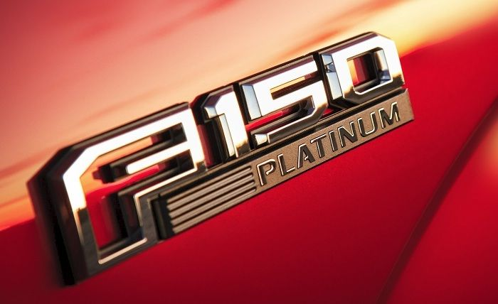 2015 F150 emblem fender badge