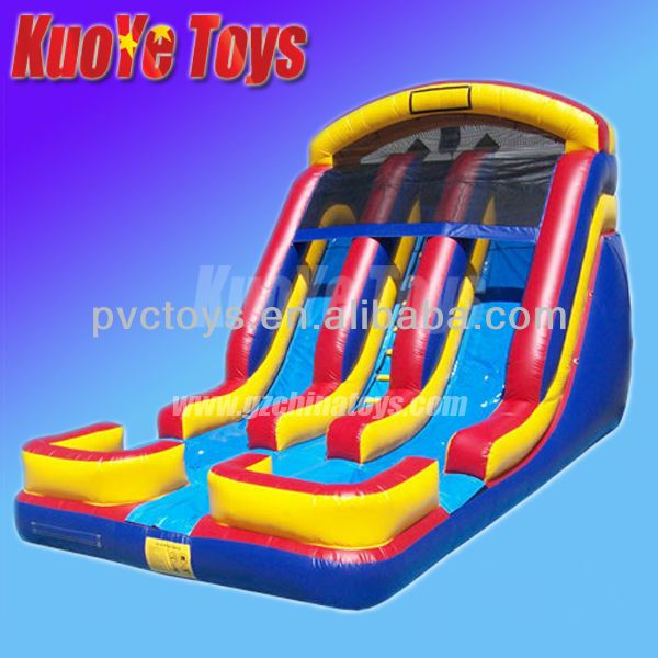 Inflatable Giant Slide: 1000+ Ideas About Inflatable Water Slides On Pinterest