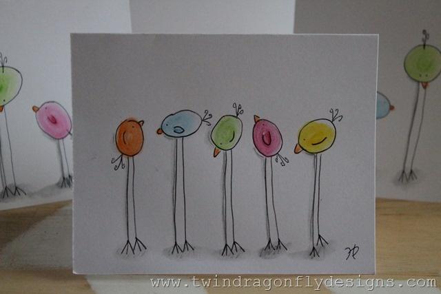 Watercolor Easter Card · Basteln Mit PfeifenreinigernWasserfarben ...