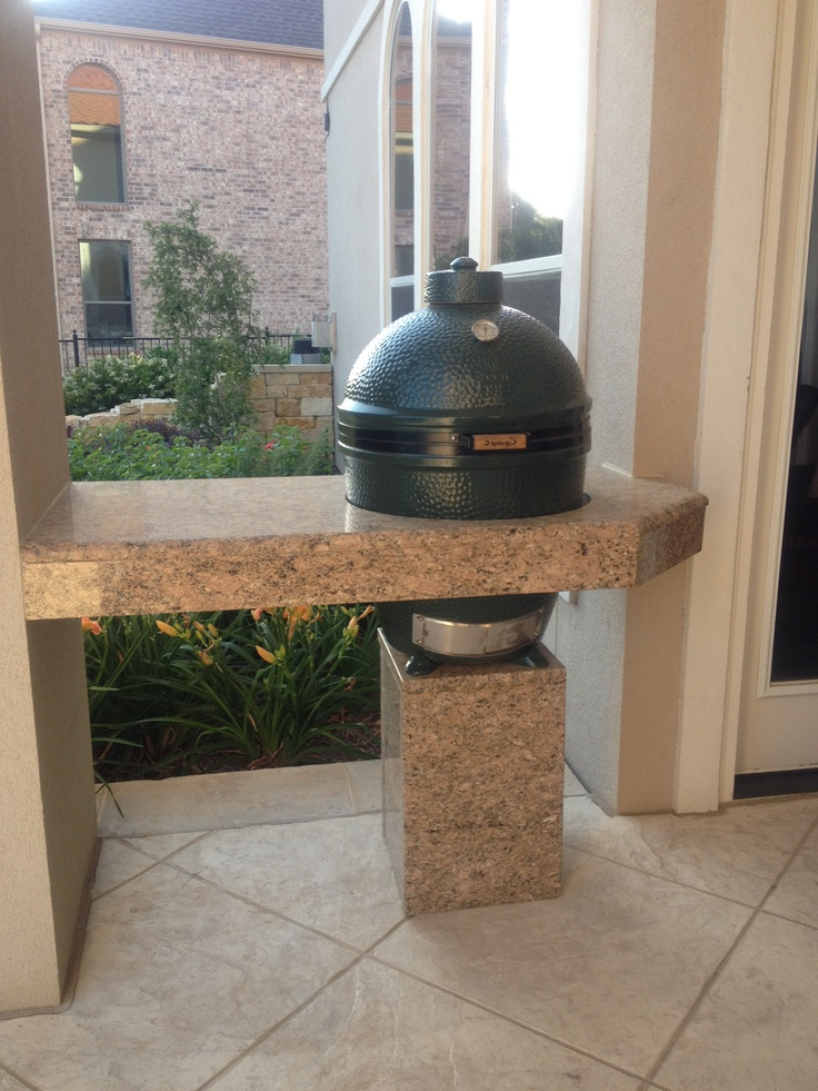 the big green egg outdoor kitchen ideas pinterest