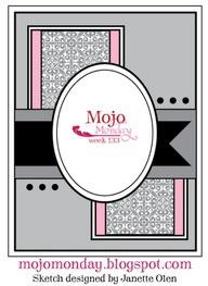 MojoMonday April card sketch