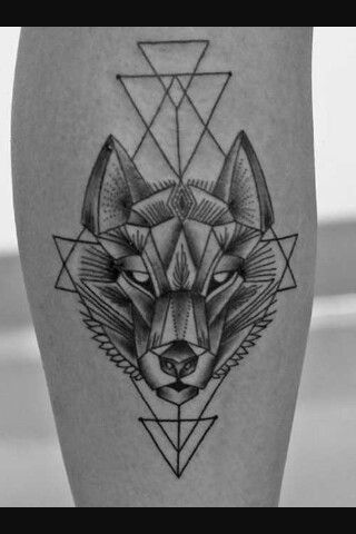 Wolf on fire 🐺