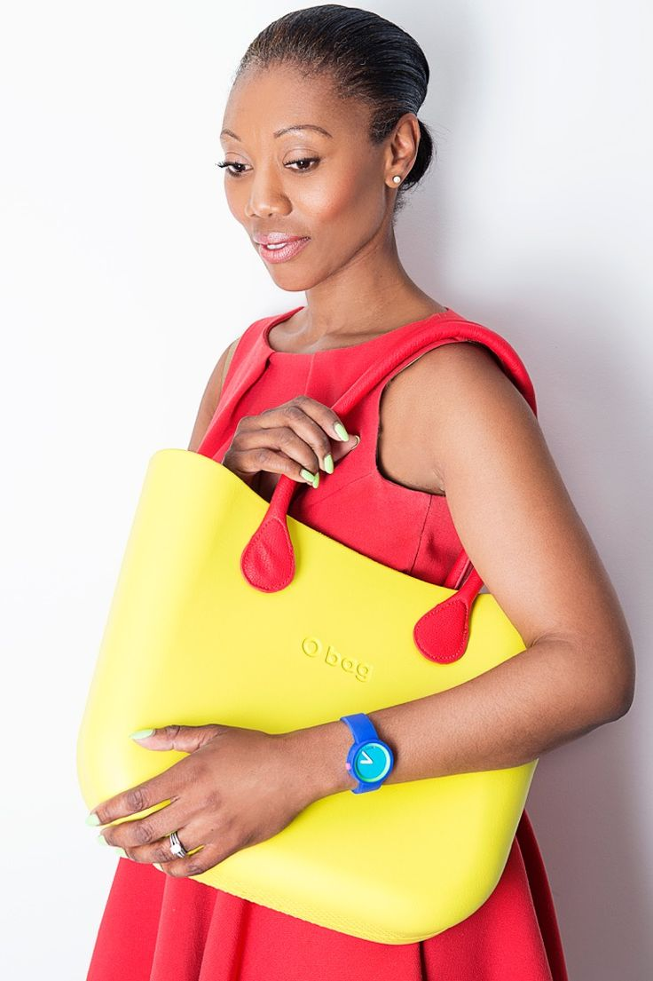 Make you summertime wardrobe POP with some color! Ginestra O Bag + Long Red Handles. Use SummertimeBOGO to get 50% off your handles!