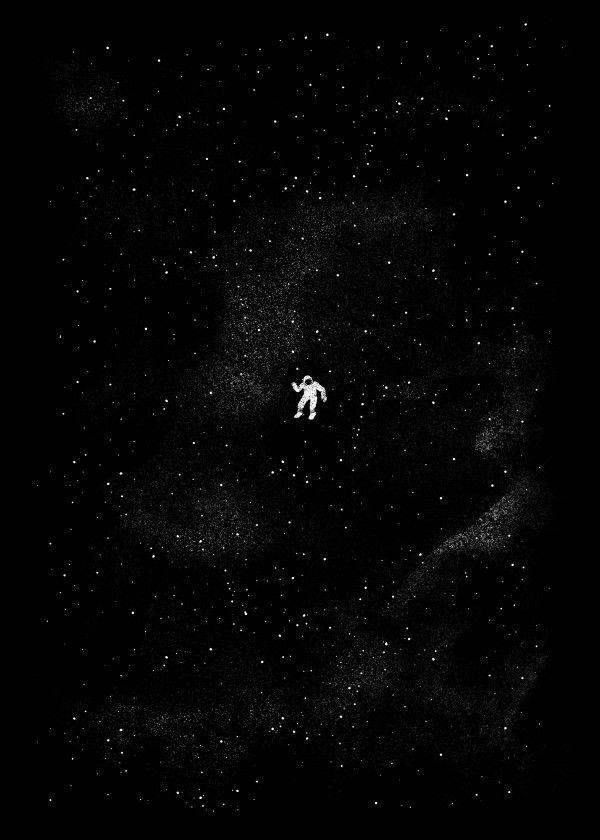 Gravity Abstract Poster Print Metal Posters Dark Phone