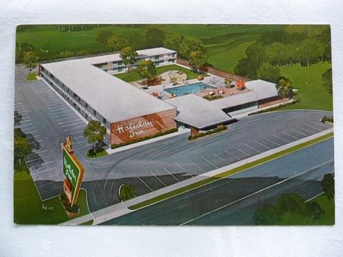 Vintage Americana Postcard Old Holiday Inn Oak Ridge Tennessee Atomic City Ebay