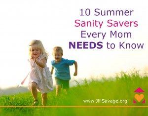 10 Summer Sanity Savers Every Mom Needs to Know