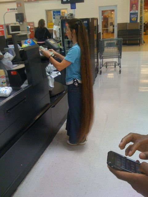 Floor Length Long Hair In Public Places Pinterest