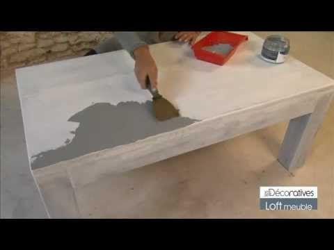 """Peinture Les Décoratives """"LOFT MEUBLE"""" sur www.produitsdeco.com"""