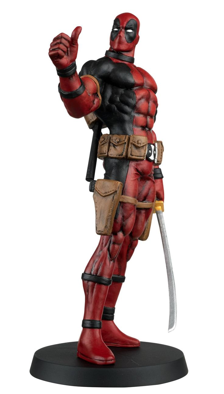 Eaglemoss Marvel Comics Fact File Deadpool Figurine ...