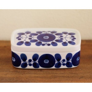 HAKUSAN JAPAN - butter dish (BLOOM)