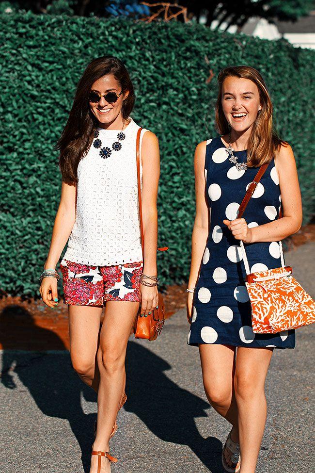 Classy Girls Wear Pearls: Chatting in Chatham