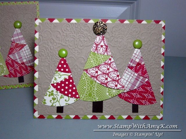 I made these cards after viewing a tutorial on Split Coast Stampers.  They are so simple to make and you can use almost any circle size to make them. To make these cards you will need: Festival of …