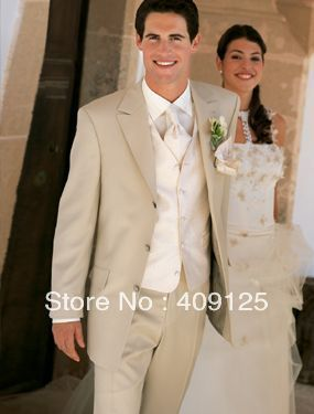 FREE shipping Top men's wedding suits Groom wear complete designer tuxedos Bridegroom groomsmen suits for men custom-made N449 $168.00