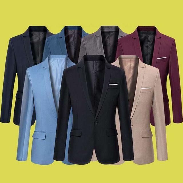 Source Autumn new 2017 men's casual suit slim suit jacket blazer fashion men suit on m.alibaba.com