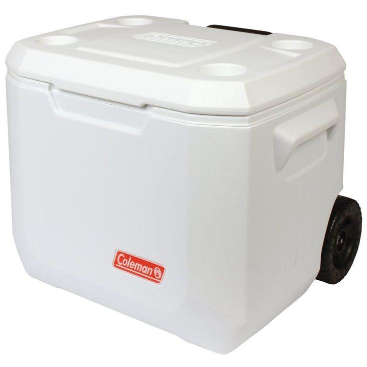 De Coleman Extreme Marine koelbox kan gemakkelijk meegenomen worden dankzij de wielen. Deze koelbox is zeer goed geïsoleerd en kan daardoor ijs tot wel vijf dagen bevroren houden. Altijd koel eten en drinken bij de hand!