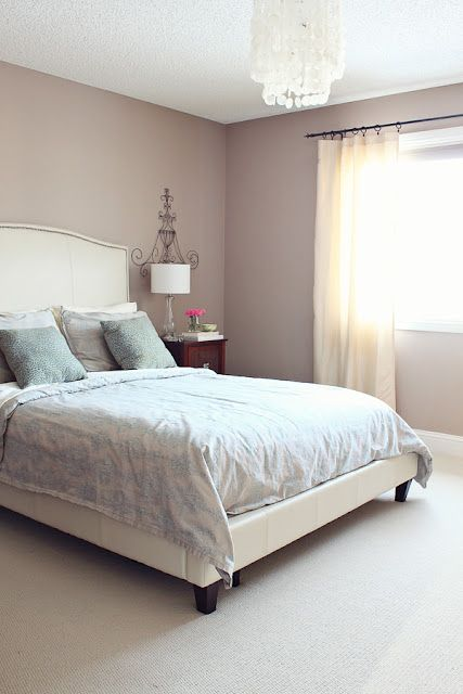coodinating colour ideas for pale taupepink walls - Bedroom Wall Colors