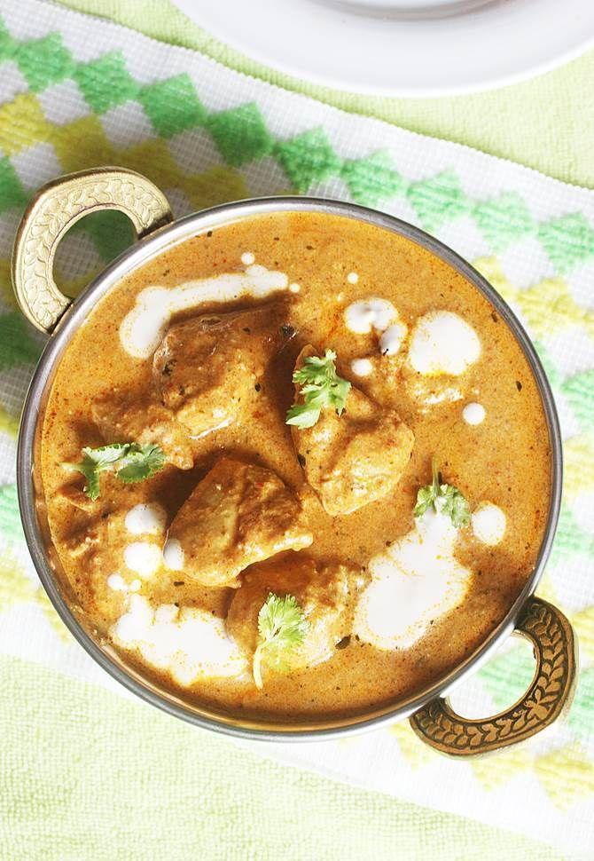 Butter chicken recipe | Indian butter chicken recipe (murgh makhani)