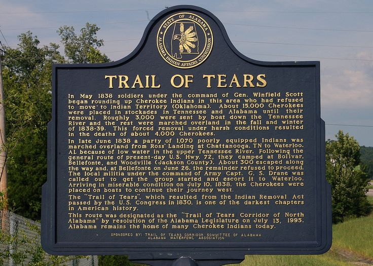 the native american trail of tears essay A j langguth connects indian removal and the civil war  but the horrors of  the trail of tears did not take america from the 1830s to the.