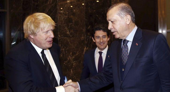 #SİYASET Cumhurbaşkanı Erdoğan Boris Johnson ile görüştü: Cumhurbaşkanı Erdoğan, Birleşik Krallık Dışişleri Bakanı Boris Johnson ile…