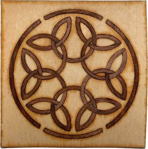 Celtic Knot 1 Marquetry Medallions And Panels Celtic