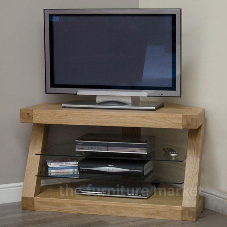 Moglichkeiten Von Licht Tv Eiche Eckschrank Tv Mobel Ecke