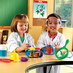 Chemistry kit - who doesn't want to make things explode? For S